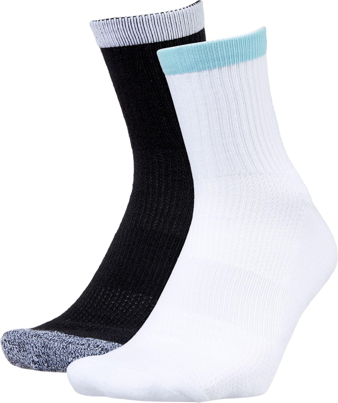 Prince Men's Half-Crew Tennis Socks 2 Pack