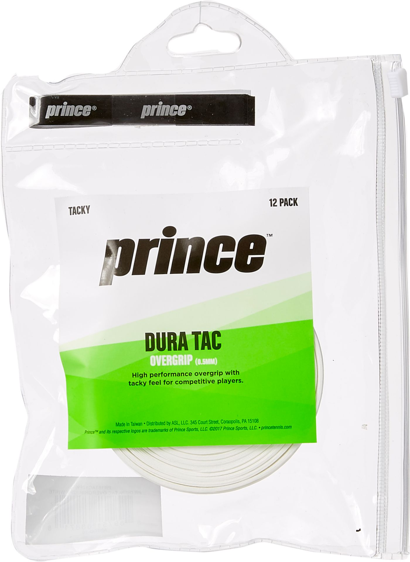 Prince 12-Pack Dura Tac Over Grip