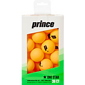 Prince One-Star Orange Table Tennis Balls 36 Pack
