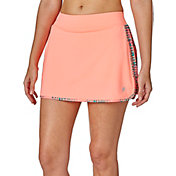 Prince Women's Side Printed Mesh Skort