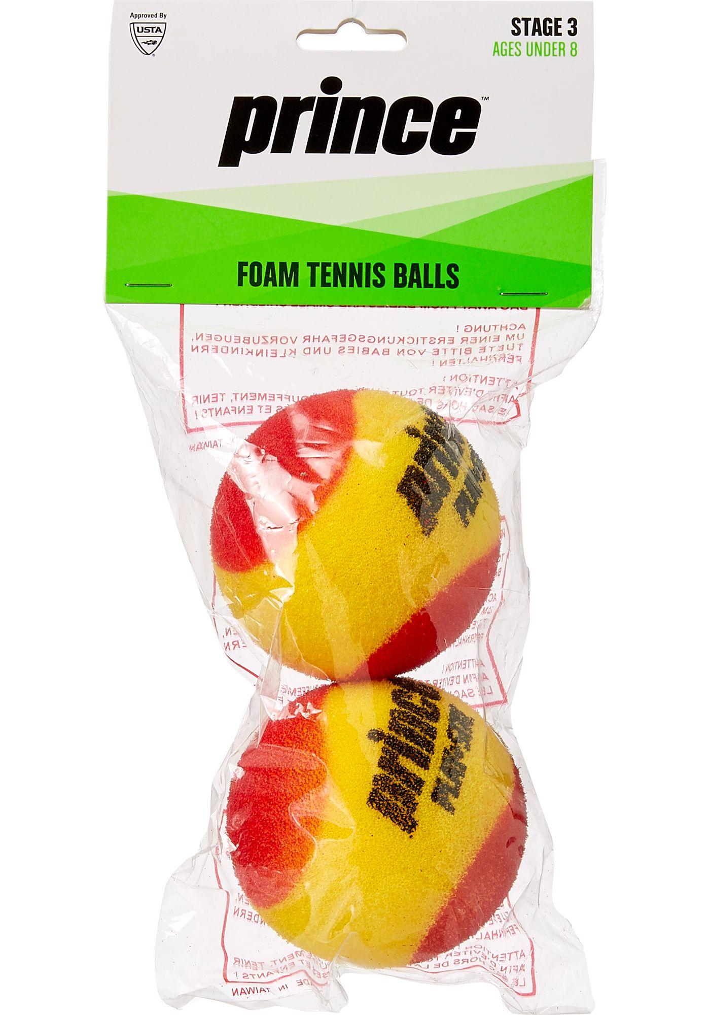 Prince Youth 2-Pack Foam Tennis Balls