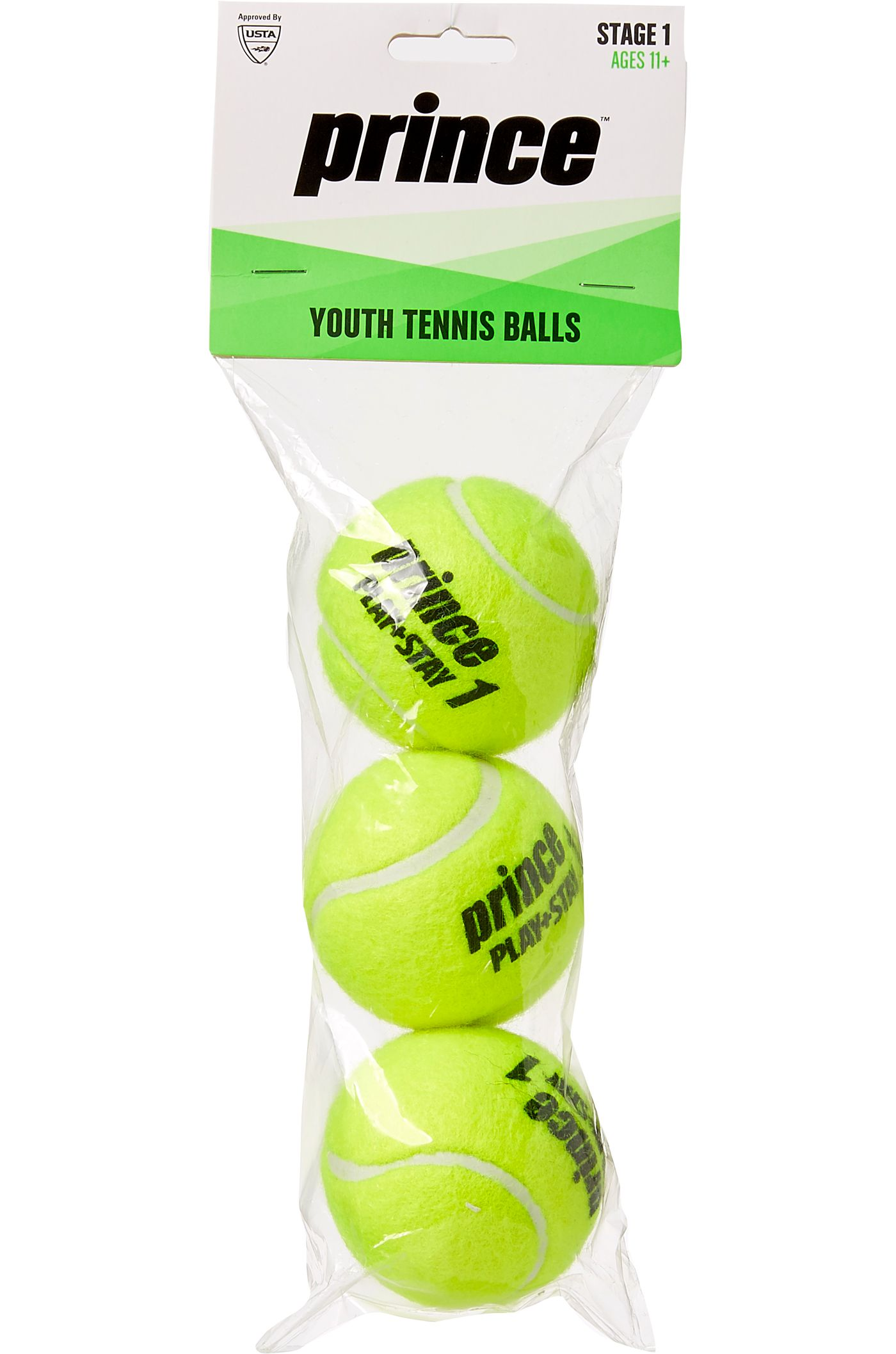 Prince Youth 3-Pack Tennis Balls