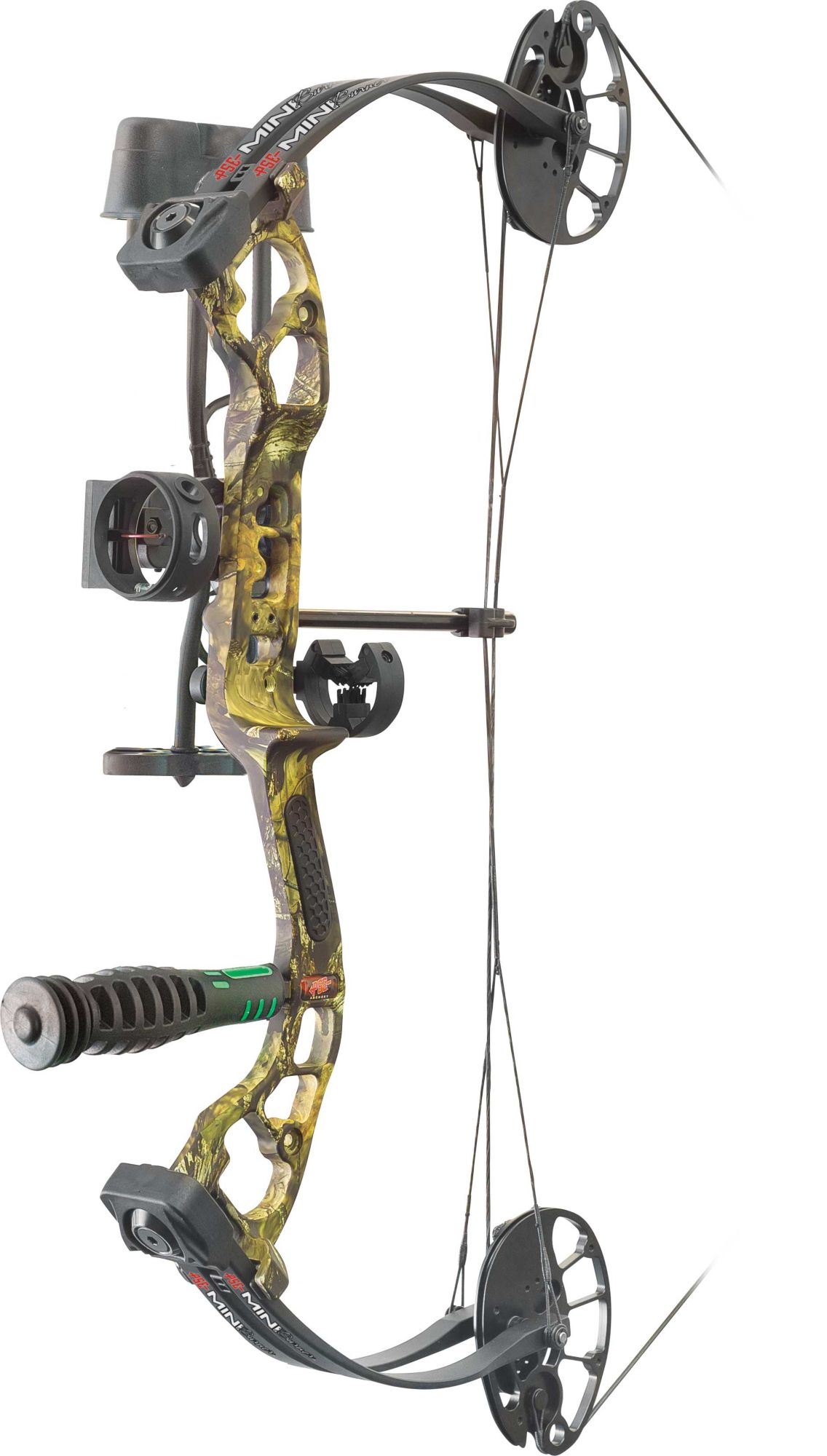 PSE Mini-Burner Youth Compound Bow Package, Mossy Oak Country thumbnail