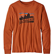 Patagonia Boys' Graphic Organic Long Sleeve Shirt