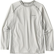 Patagonia Boys' Silkweight Long Sleeve Rash Guard