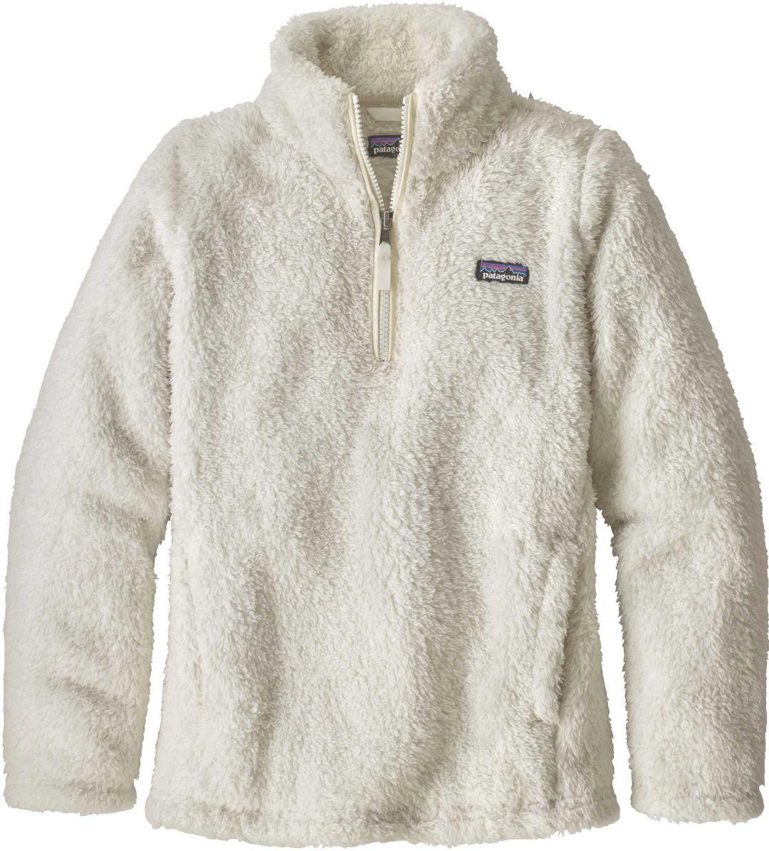 e7b2d7fab Patagonia Girls' Los Gatos Quarter Zip Fleece Jacket