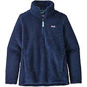 Patagonia Girls' Los Gatos Quarter Zip Fleece Jacket