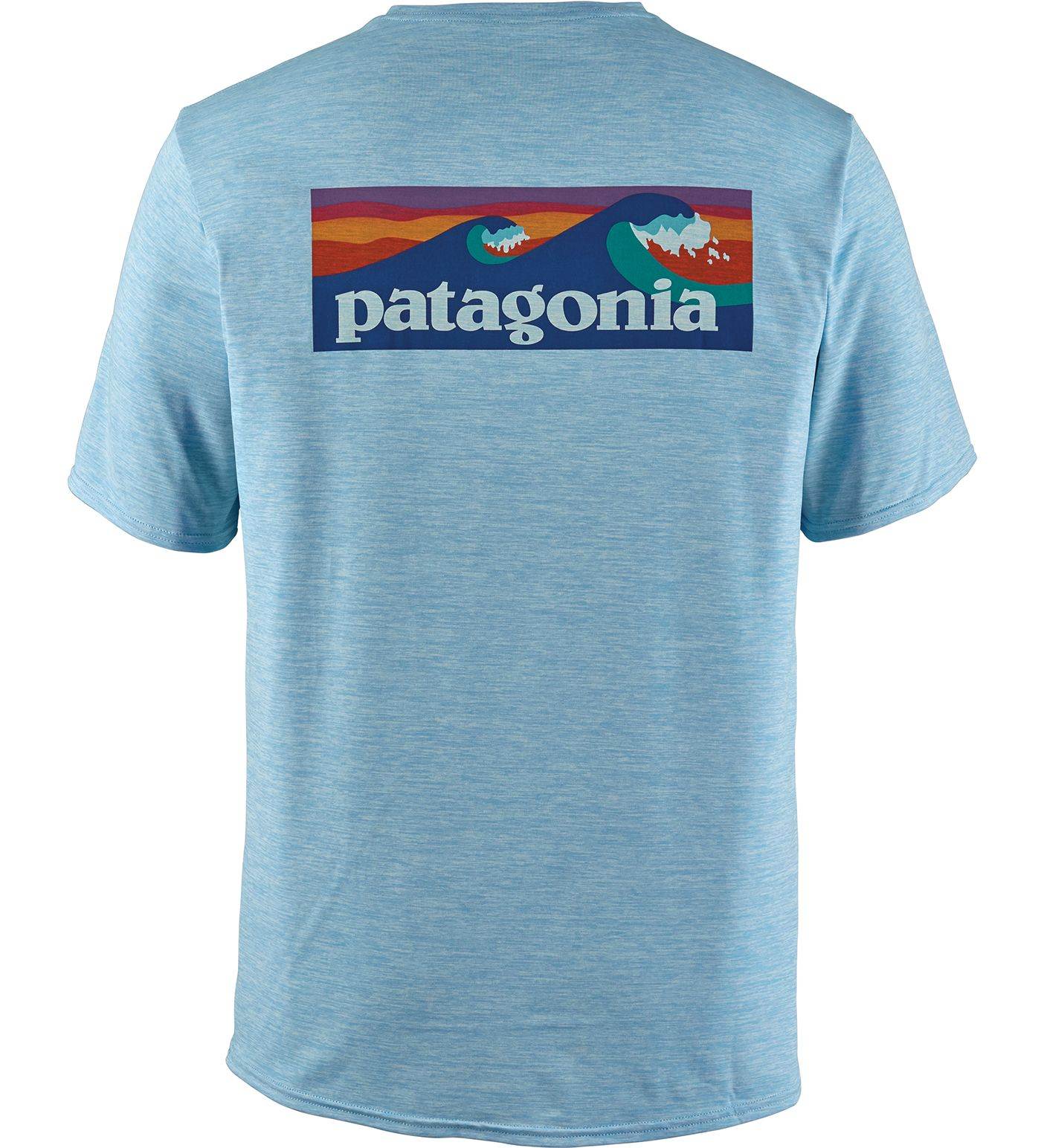 Patagonia Men's Capilene Cool Daily Graphic Short Sleeve Rash Guard