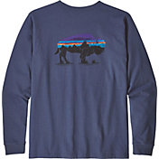 Patagonia Men's Fitz Roy Bison Responsibili-Tee Long Sleeve Shirt