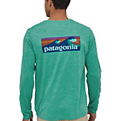 Patagonia Men's Capilene Cool Daily Graphic Long Sleeve Rash Guard