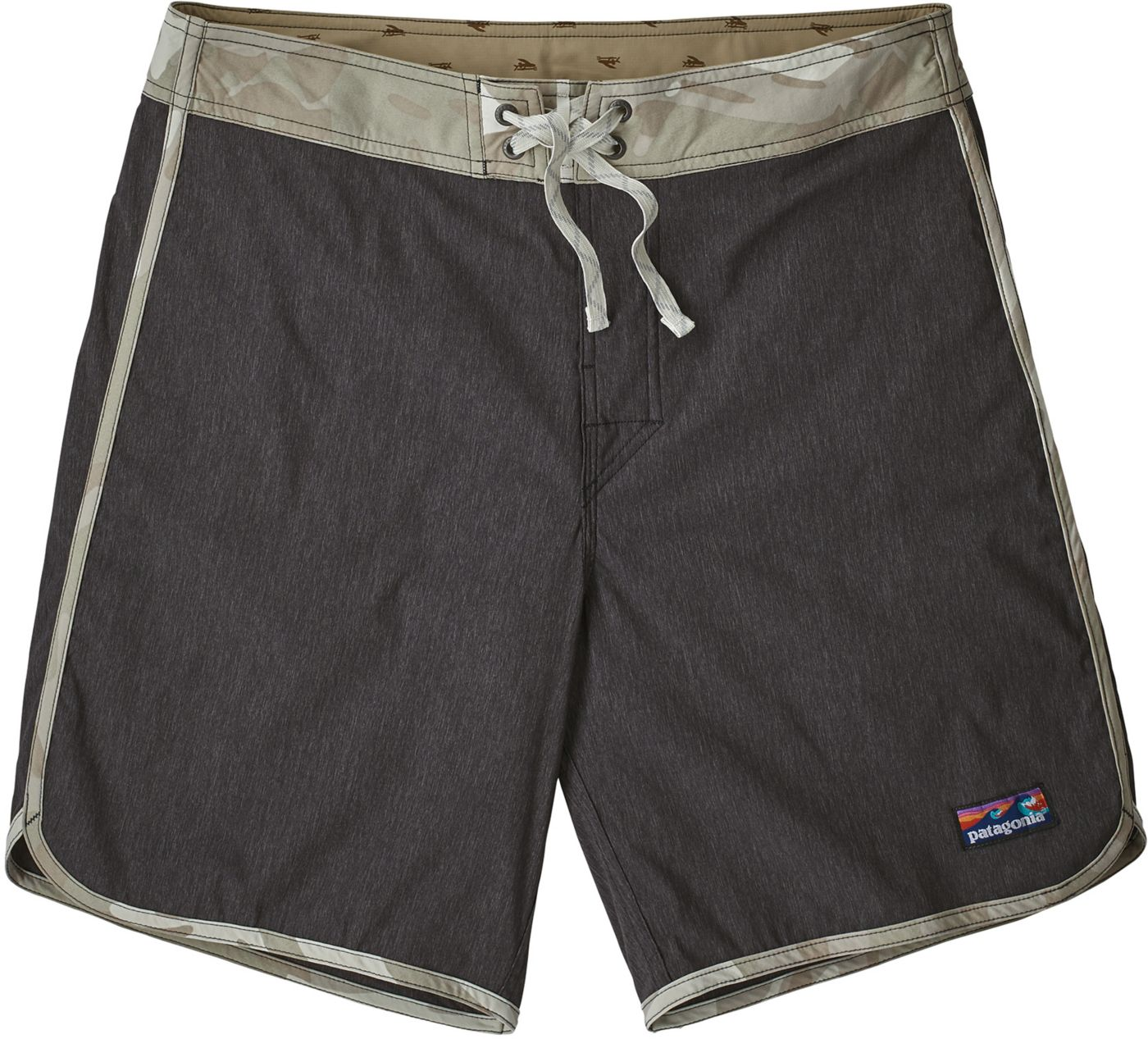 "Patagonia Men's Scallop Hem Stretch Wavefarer 18"" Board Shorts"