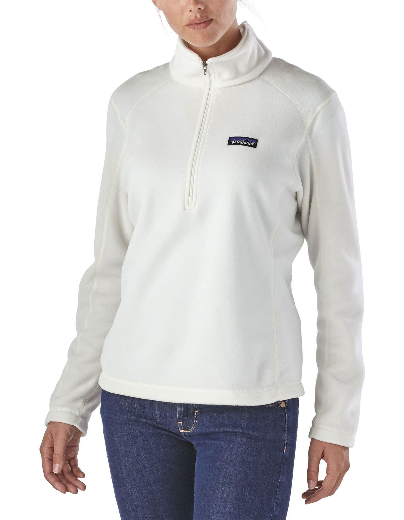 Patagonia Women's Micro D 1/4 Zip Fleece Pullover