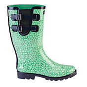 Puddletons Women's Classic Double Strap Daisy Rain Boots