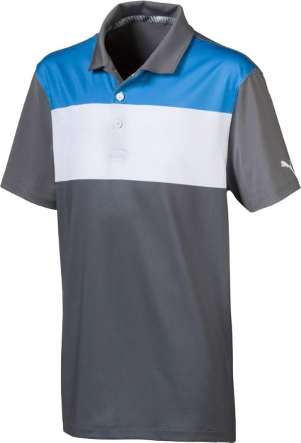 PUMA Boys' 90s Golf Polo