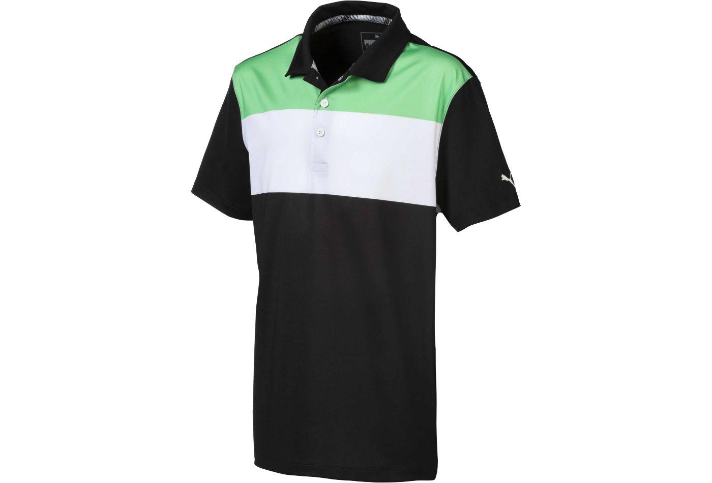 PUMA Boys' 90s Golf Polo