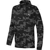 PUMA Boys' Union Camo Golf ¼ Zip