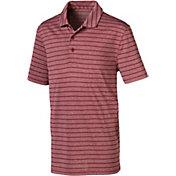 PUMA Boys' Rotation Stripe Golf Polo