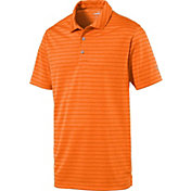 PUMA Boys' Rotation Stripe Golf Polo