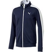 PUMA Boys' Heritage Golf Track Jacket