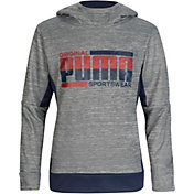 PUMA Boys' Tech Fleece Pullover Hoodie