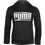 PUMA Boys' Tech Fleece Pullover Hoodie