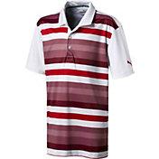 PUMA Boys' Turf Stripe Golf Polo