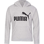 PUMA Girls' Number 1 Logo Fleece Hoodie