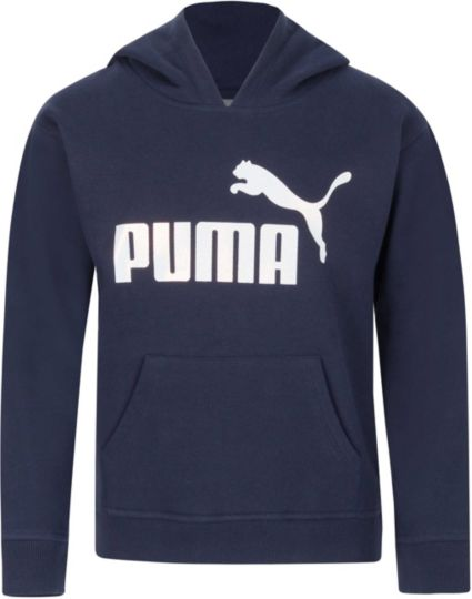 huge discount b3c41 d887e PUMA Girls  Number 1 Logo Fleece Hoodie. noImageFound. 1   1