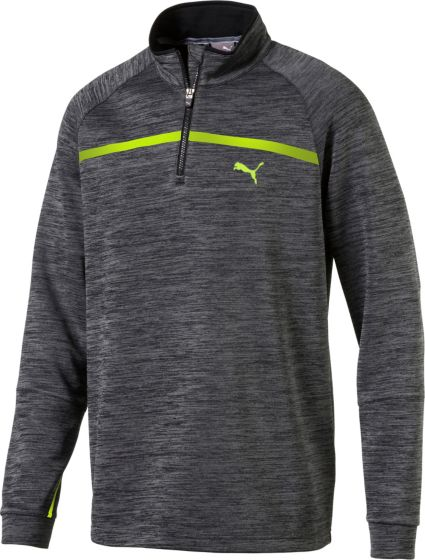 PUMA Men's PWRWARM Bonded Golf ¼ Zip