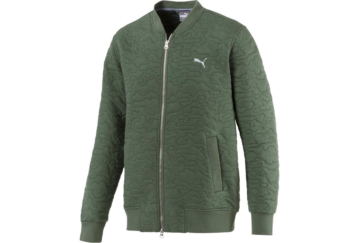 PUMA Men's Camo Golf Bomber Jacket
