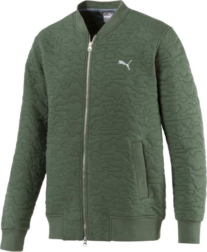 PUMA Men's Camo Golf Bomber Jacket