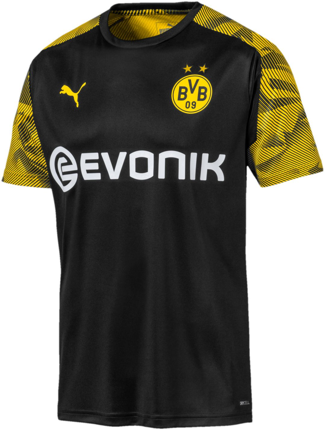 sale retailer 47261 f5aa9 PUMA Men's Borussia Dortmund Black Training Jersey