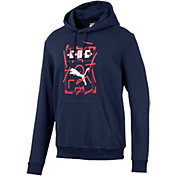 PUMA Men's Chivas DNA Black Pullover Hoodie