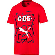 PUMA Men's Chivas DNA Red T-Shirt