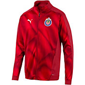 PUMA Men's Chivas Stadium Red Full-Zip Jacket