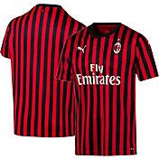 PUMA Men's AC Milan '19 Stadium Home Replica Jersey