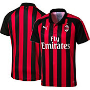 PUMA Men's AC Milan 2018 Stadium Home Replica Jersey