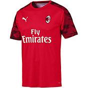 PUMA Men's AC Milan Red Training Jersey