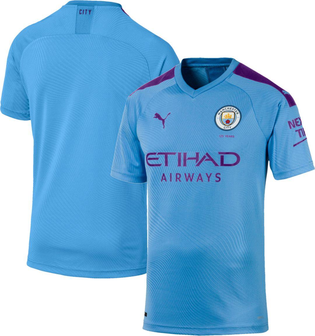 timeless design cead3 cb46c PUMA Men's Manchester City '19 Stadium Home Match Jersey
