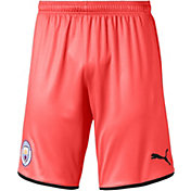 PUMA Men's Manchester City '19 Stadium Orange Replica Shorts
