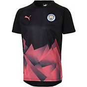 PUMA Men's Manchester City Prematch Black Shirt