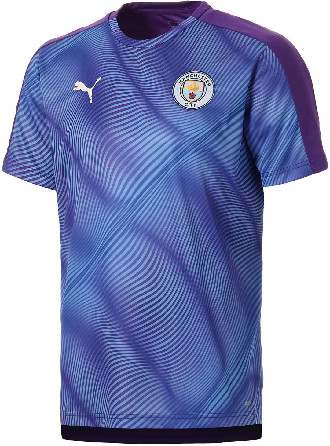 huge selection of 2aacd b8f58 PUMA Men's Manchester City Prematch Purple Shirt