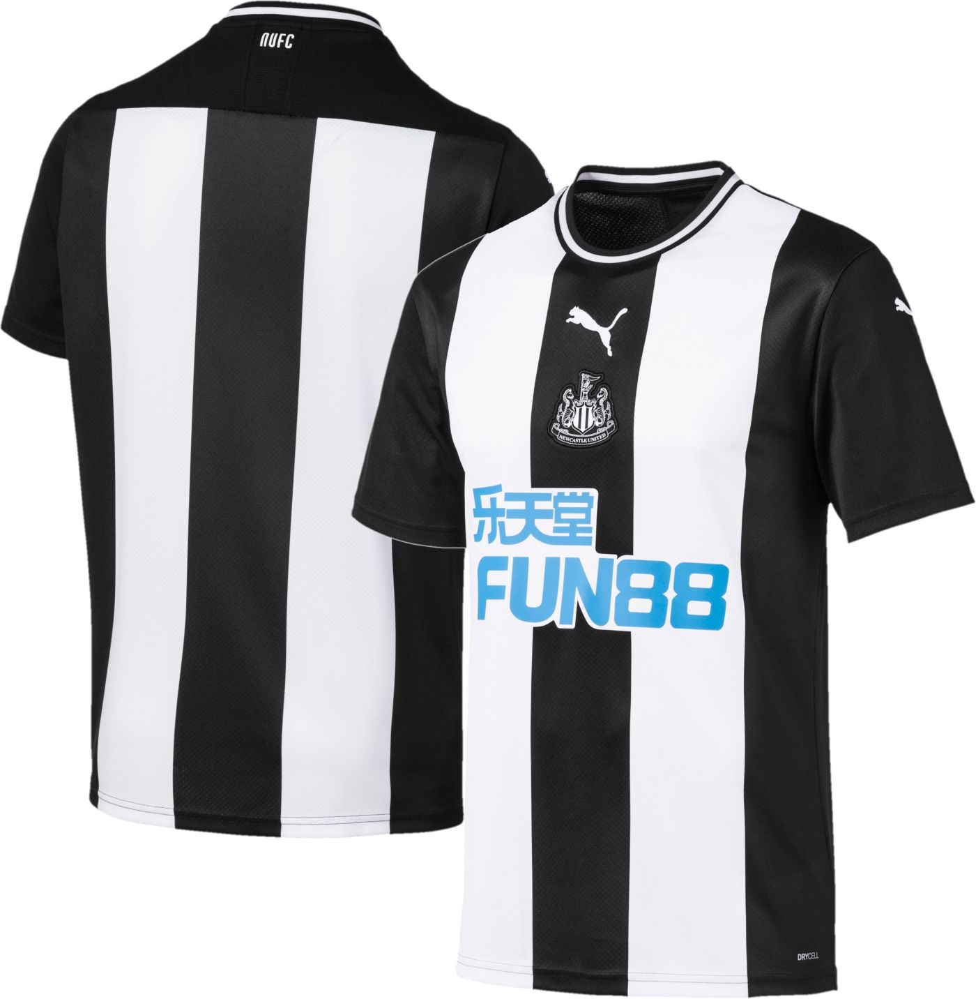 PUMA Men's Newcastle '19 Stadium Home Replica Jersey