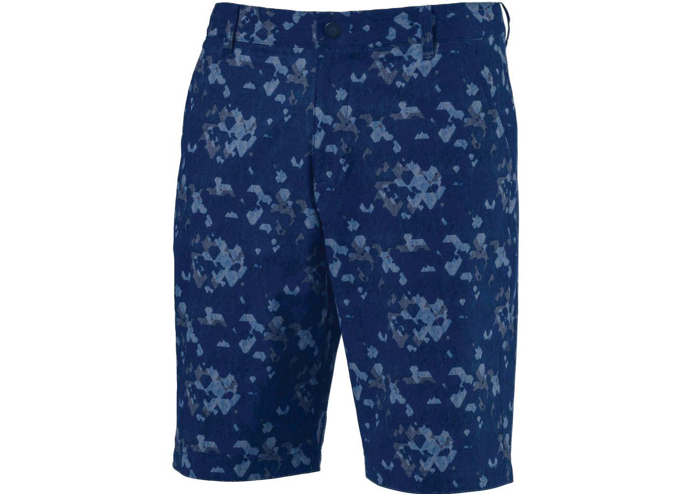 PUMA Men's Dassler Camo Golf Shorts