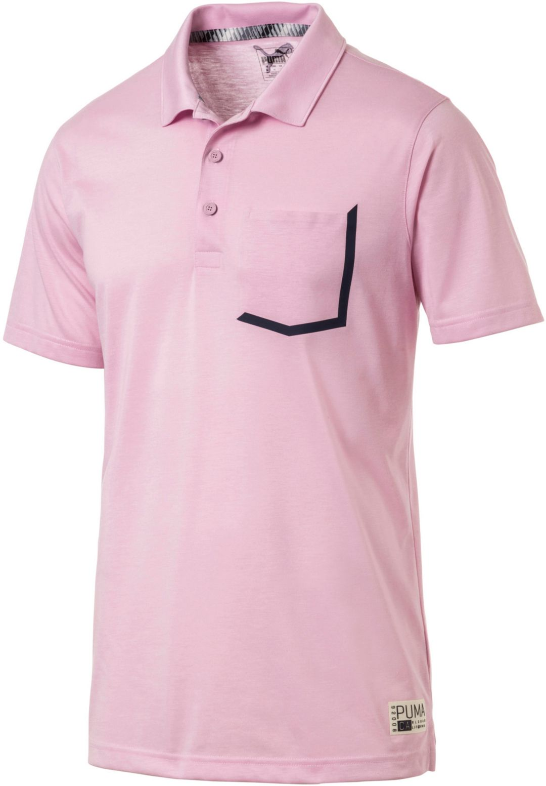 f45102a48e PUMA Men's Faraday Golf Polo