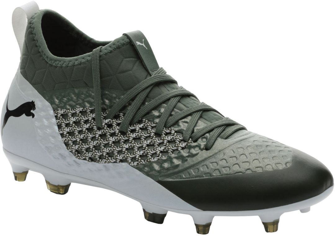 a2cfea7244 PUMA Men's Future 2.3 NetFit FG/AG Soccer Cleats