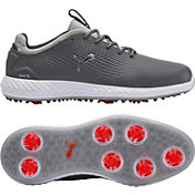 PUMA Men's IGNITE PWRADAPT Leather Golf Shoes