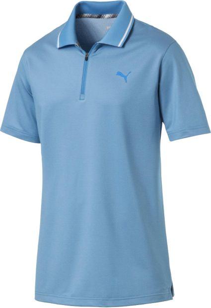 PUMA Men's Honeycomb Golf Polo