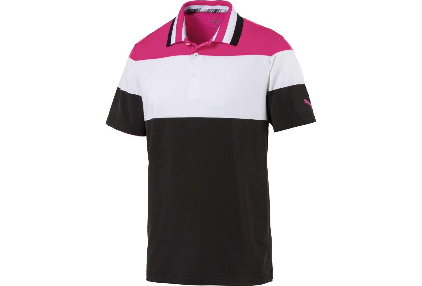 PUMA Men's Nineties Golf Polo