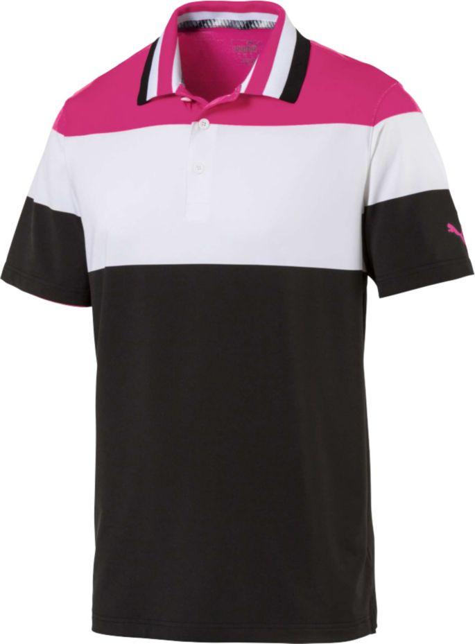 ab3f1d69 PUMA Men's Nineties Golf Polo
